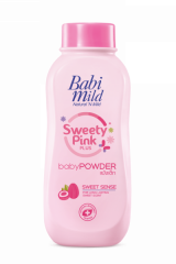 Babi Mild Sweety Pink Plus Powder