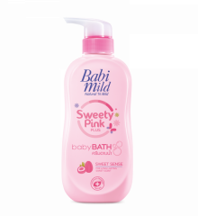 Babi Mild Sweety pink plus Moisturizing oil bath
